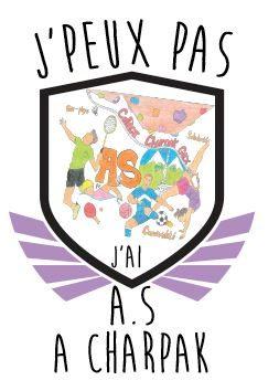 Nouveau logo de l'AS CHARPAK